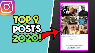 Do you want to find your instagram top 9 posts 2020? well are in luck because that is exactly what i am going be showing todays video. get y...