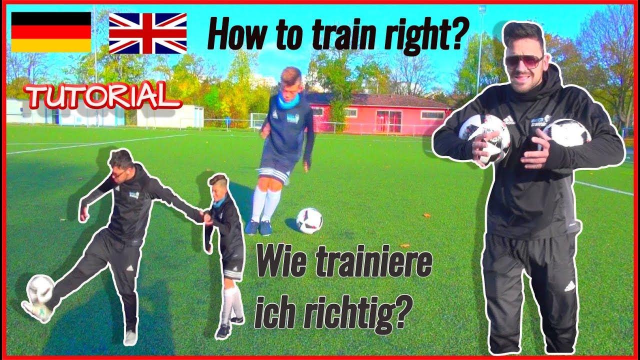 Besser werden im Fußball EINZELTRAINING | get better in ...