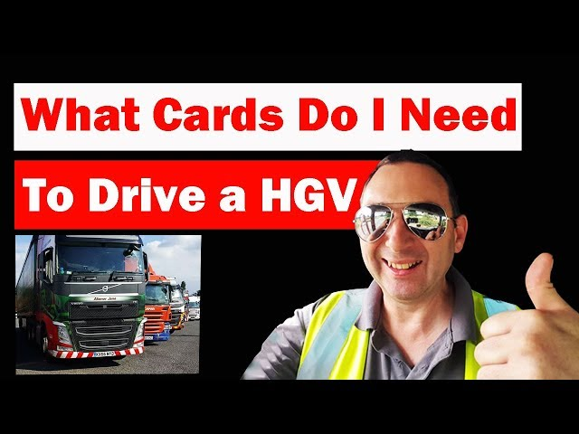 What cards do I Need to Drive a HGV Truck in the UK with Digital Tachograph? British Trucking
