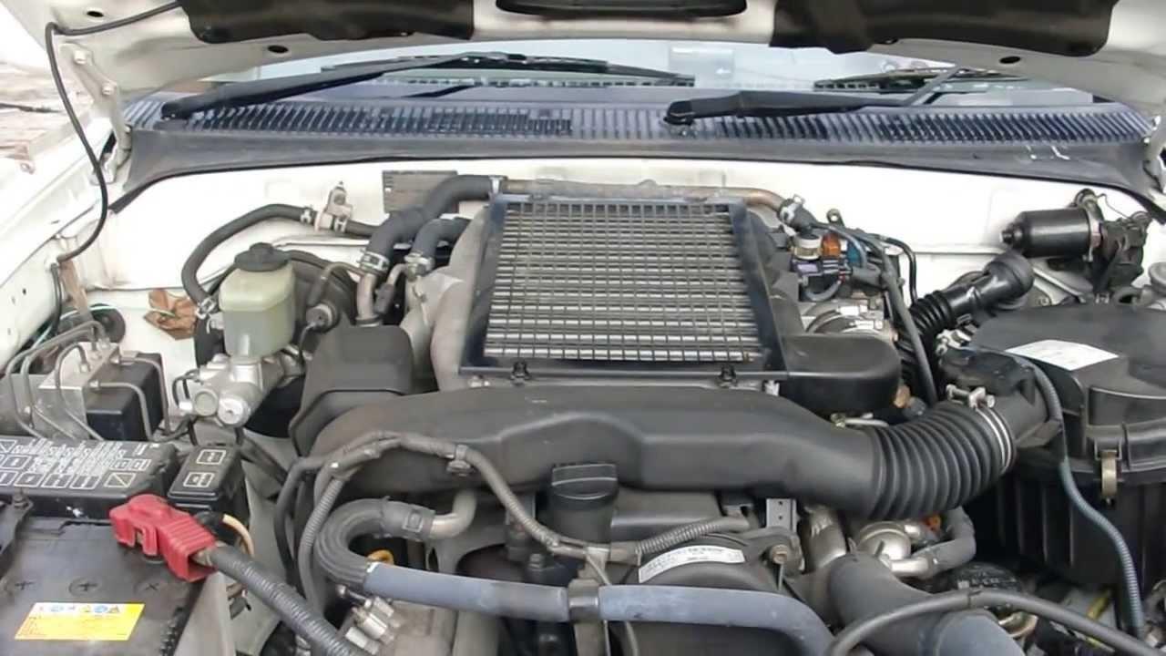 トヨタ最強の4気筒ディーゼルエンジン 1KD-FTV