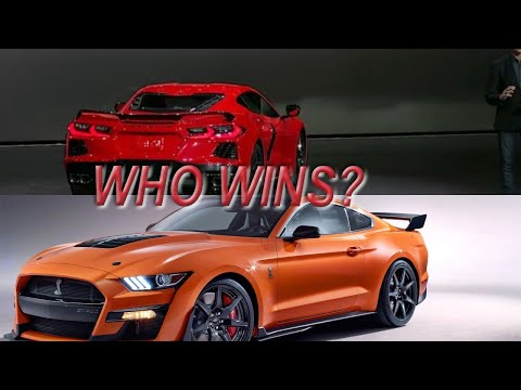 Which is the superior vehicle? The 2020 Corvette C8 or 2020 Shelby GT 500? Zander 13 calls in!