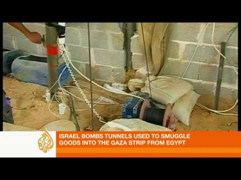 Israel targets Gaza tunnels - 11 Jan 09