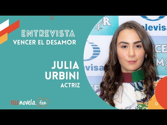Julia Urbina, parte del elenco de Vencer el Desamor