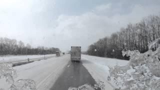 Разговоры дальнобойщиков по рации на трассе М4.(Трасса М4