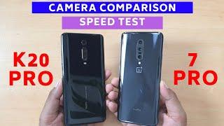 Redmi K20 Pro vs OnePlus 7 Pro Speed Test & Camera Comparison | Hindi