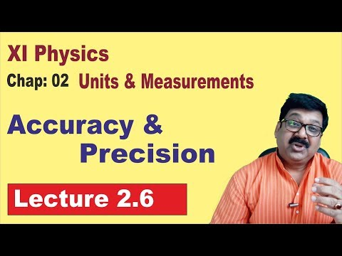 2.6 || Accuracy and Precision || Class 11 Physics ||