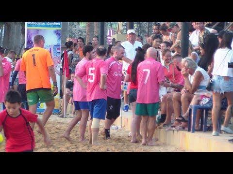 13th Pattaya Beach Football Cup France 8 - 10 Ireland EP 2