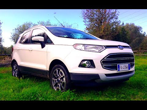 new ford ecosport 2016 first test drive youtube. Black Bedroom Furniture Sets. Home Design Ideas