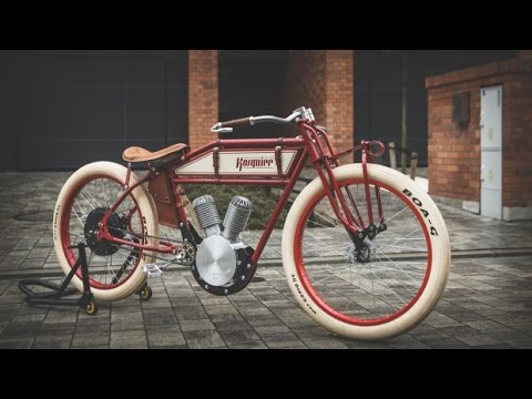 kosynier the handmade retro style e bike youtube. Black Bedroom Furniture Sets. Home Design Ideas