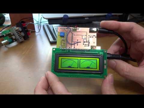 LCD Audio VU meter as a shield of Arduino
