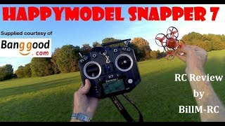 Happymodel Snapper 7 Review - Brusheless Whoop FPV Racing Drone