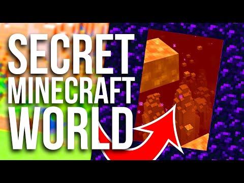 How To Access A SECRET HIDDEN World In Minecraft!