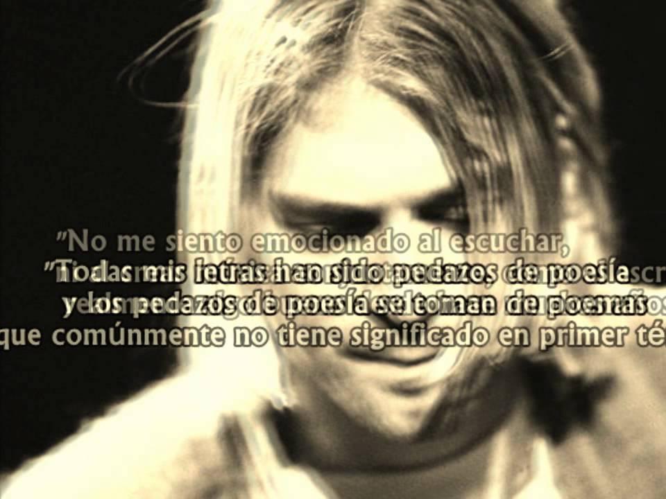 Frases Kurt Cobain Hd Youtube