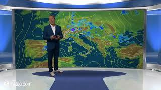 Previsioni meteo Video per domenica, 22 luglio