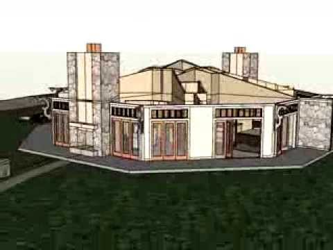 Custom House Plan Octagon Interior YouTube