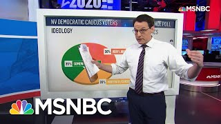 Gambar cover Nevada Caucus Too Early To Call, Sanders Has Significant Lead In Voters' Initial Preference | MSNBC