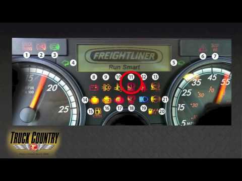 Freightliner Cascadia Dashboard Key