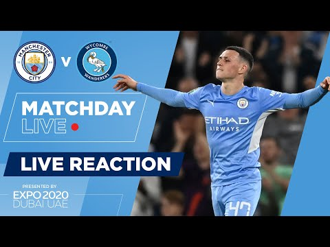 FULL TIME |  MAN CITY 6-1 WYCOMBE WANDERERS |  CARABAO CUP |  MATCHDAY LIVE SHOW