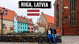TRAVELING TO RIGA, LATVIA 🇱🇻 (Our First Impressions!)