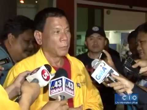 There is no Tacloban City right now - Mayor Rodrigo Duterte