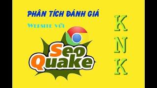 Hướng dẫn cài đặt và sử dụng SEO Quake, phân tích website với seoquake