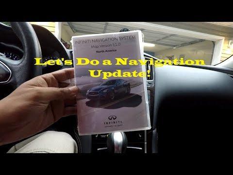 Infiniti Q50/Q60 Navigation Update