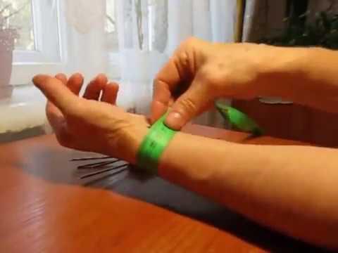 Хитрости вязания спицами видео
