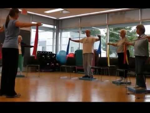 UNMC's EngAge Wellness Senior Fitness Omaha NE - FallProof Class