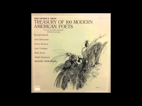 John Berryman Reading Dream Songs (Treasury of 100 Modern American Poets)