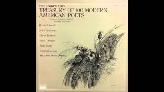 John Berryman Reading Dream Songs (Treasury of 100 Modern American Poets)
