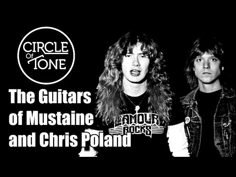 The Guitars of Megadeth:  Peace Sells Chris Poland Dave Mustaine era.