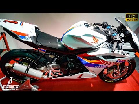 (4K)HONDA HRC CBR250RR 2017 ホンダ・CBR250RRレースベース車(市販予定車) - 大阪モーターサイクルショー2017