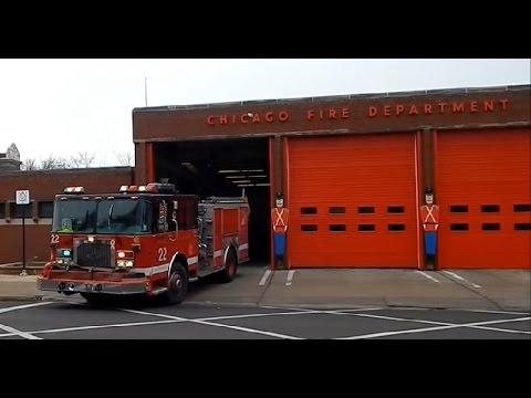 Chicago Fire Department Engine Co. 22 Responding
