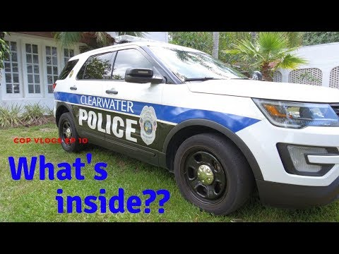 WHAT'S INSIDE A POLICE CAR? | COP VLOGS CRUISER TOUR