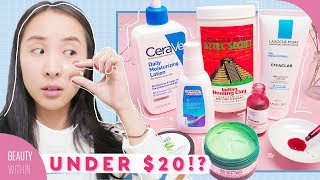 Drugstore Skincare Products Under $20 for Acne-Prone, Combo & Oily Skin Types