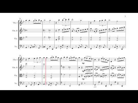 Por Una Cabeza - for String Quartet (Sheet Music)