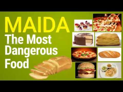 Maida or all purpose flour most dangerous - YouTube