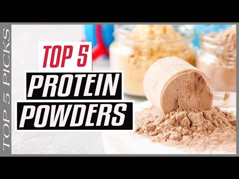 ▶️ TOP 5 Best Protein Powders 2020 for Men, According to a Dietitian