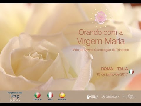 Apparition of the Virgin Mary Rose of Peace - Rome, Italy - June 13, 2017