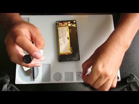 ZTE Z9 Max замена экрана, разборка / сборка.