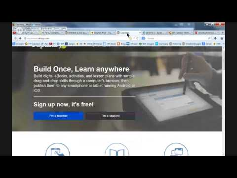 eBook Hack-a-thon: Build Once, Learn Anywhere (Activity 1)
