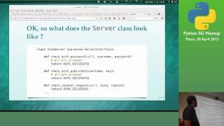 How I built a SFTP service using Paramiko - Singapore Python User Group