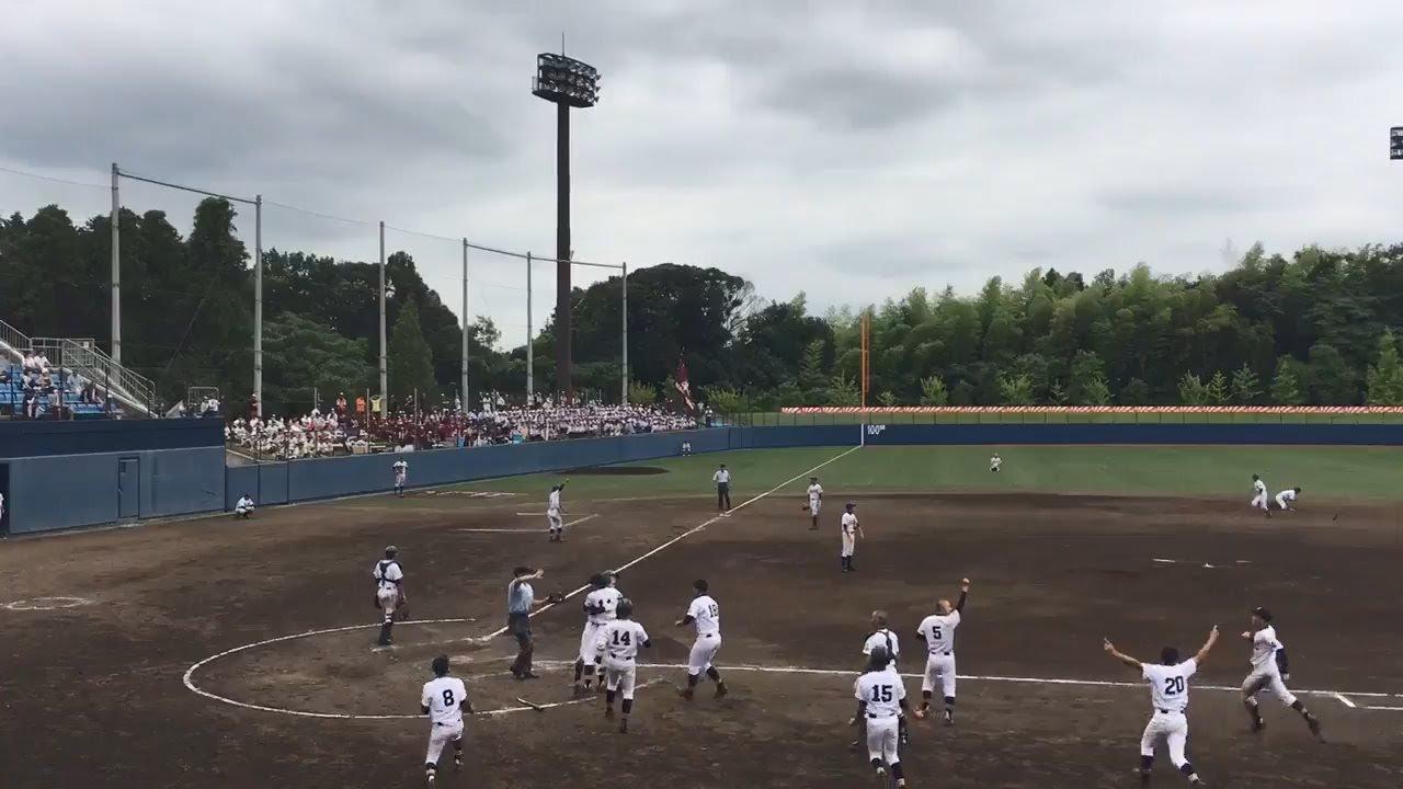 【高校野球】東千葉大会 市立稲毛が9回裏2死から逆転サヨナラHR!
