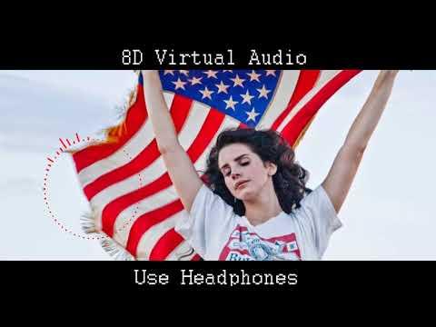 Lana Del Rey - American (8D AUDIO) [UPDATED]