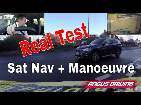 Full Real New Driving Test With Sat Nav And New Manoeuvres Fully Explained In Edinburgh 2017