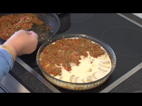 Musaka me Patate Receta e Nenes Moussaka