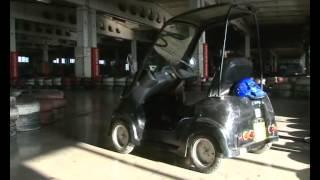 Афонтово: Самая маленькая машина в Красноясрке(В Красноярске появилась самая маленькая машина в мире - Mitsuoka MC-1 http://afontovo.ru/videos/11970., 2013-02-11T10:22:26.000Z)