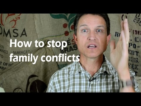 how to deal with family conflict as a christian