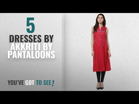 Top 10 Akkriti By Pantaloons Dresses [2018]: Akkriti By Pantaloons Women's Rayon Tunic