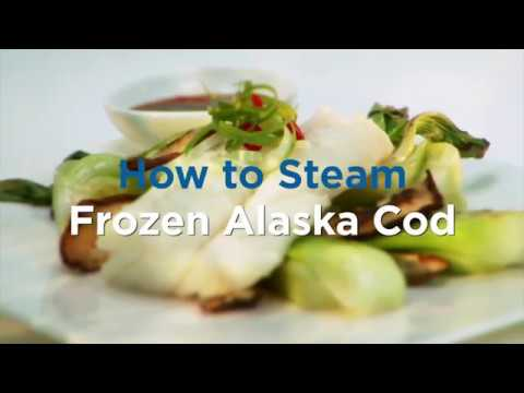 How To Steam Frozen Alaska Cod